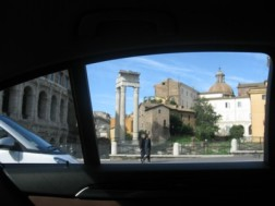 Arriving in Roma