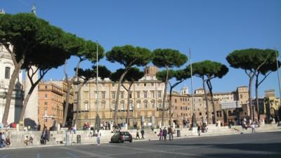 Trajan's market, where the Romans shopped for bargains