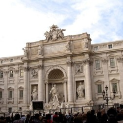 Trevi Fountain - throw in a coin and make a wish to make sure you return to Rome
