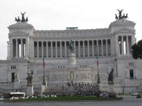 Vittorio Emanuele II Monument at Piazza Venezia.
