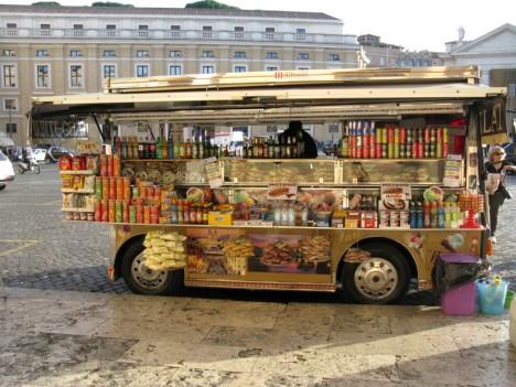 Food stall Vatican