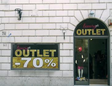 More bargains on Via del Babuino near Piazza di Spagna