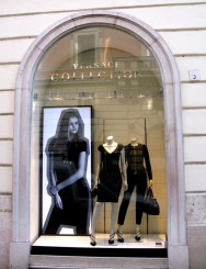 Versace - Via del Babuino and also at Piazza d Spagna