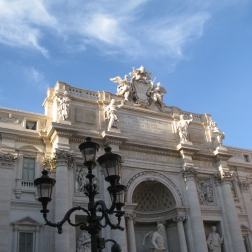 Trevi Fountain - recently cleaned and refurbished thanks to Fendi