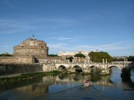 Castel Sant'Angelo on the River Tiber