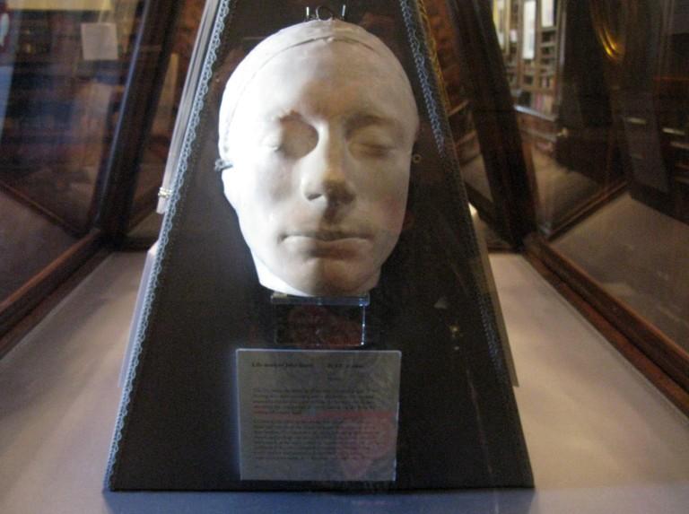 Keats' mask