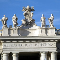 Commemorating Pope Alexander VII