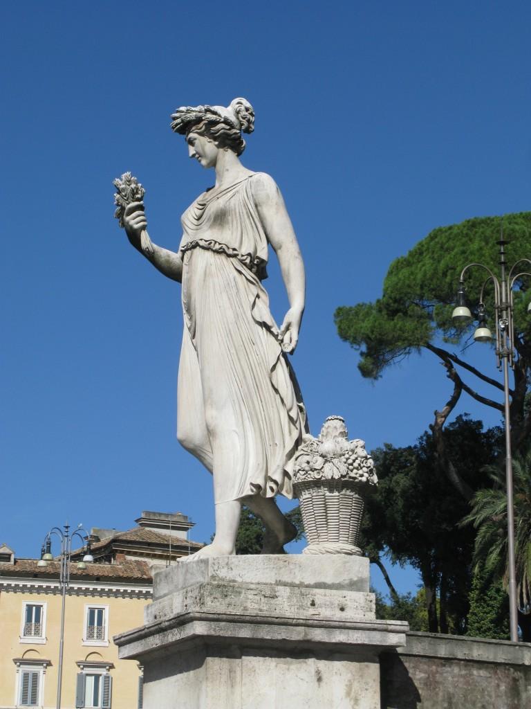 Ceres, Piazza del Popolo, Rome