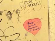 Rome Alone Graffiti