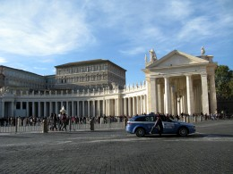 Papal Apartments and loggia