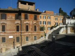 Spanish Steps from Keats Shelley House