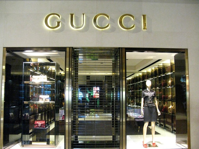 Gucci window sized