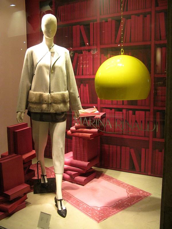 Marina Rinaldi beige fur sized