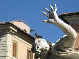 Piazza Navona Statuary
