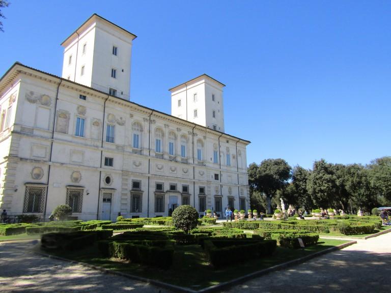 Medici Villa Borghese Gardens