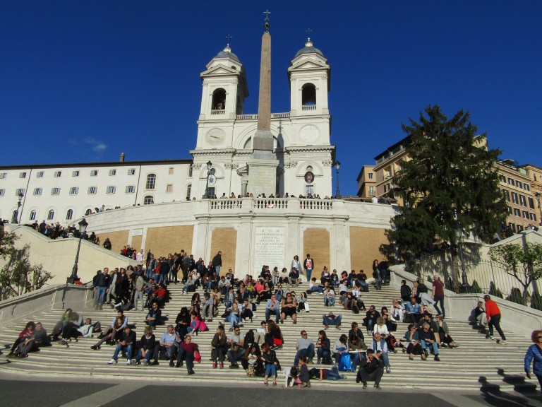 Spanish Steps day
