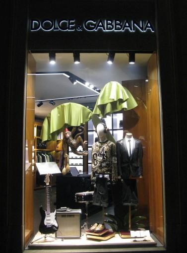 Dolce and Gabbana - via Condotti