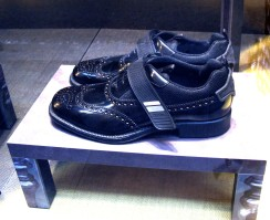 Fendi - men's brogues get a witty update with the addition of a velcro strap