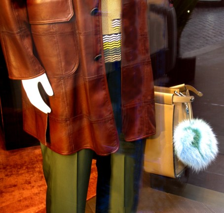 Fendi - clip a furry pom-pom to his briefcase before he sets off for work - and then fight to save your marriage