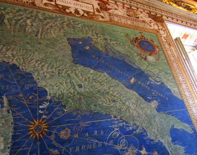 Map of Ancient Italy Map Room