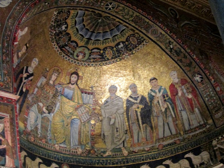 Mosaics of Santa Maria Basilica sized