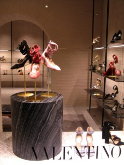 Valentino - perfect footwear for the gladiatrix