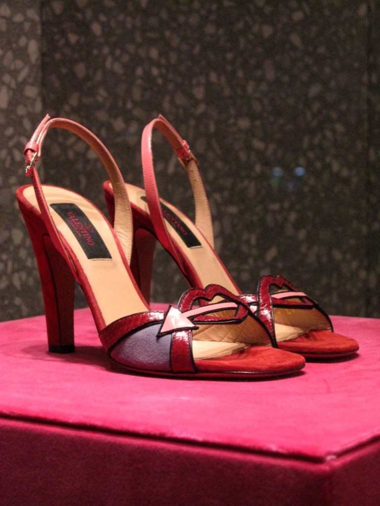 Valentino red shoes sized