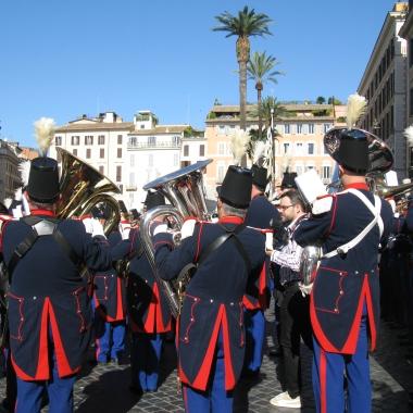 Musicians in Piazza di Spagna