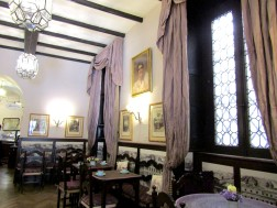 The upper salon