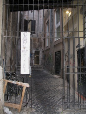 Entrance leading to Campo dei Fiori
