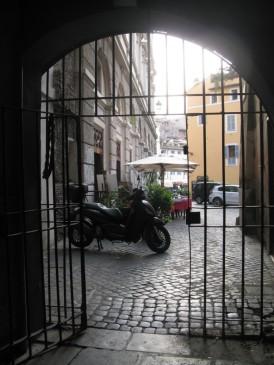 Looking back towards Camp dei Fiori