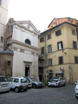 Santa Maria Grottapinta, where Caesar died