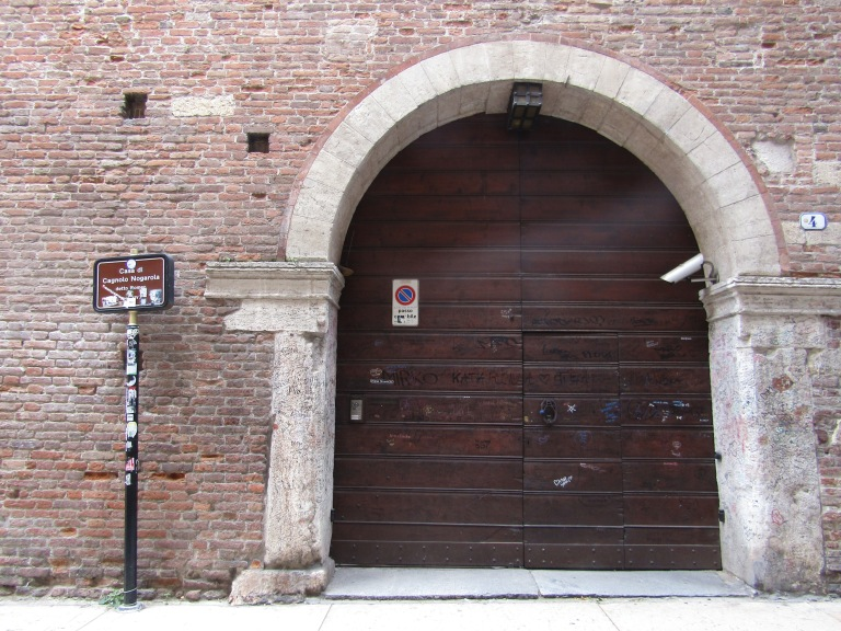 House of the Montecchi family in Verona