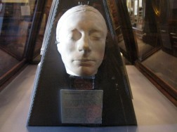Keats' death mask