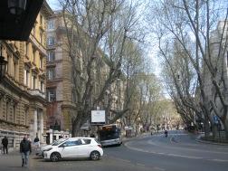 Cab rank on Via Vittorio Veneto