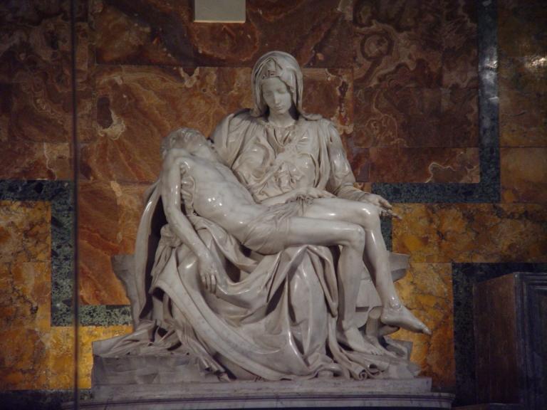 Elvis Santana Michelangelo Pieta