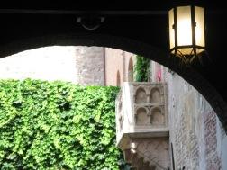 The famous balcony