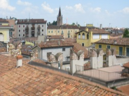 View from Juliet's House