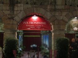 Poltronissime, Arena di Verona