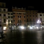 Piazza Bra at night
