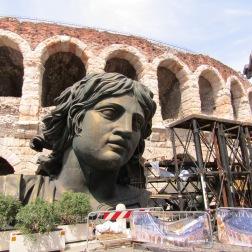 Arena di Verona scenery dock