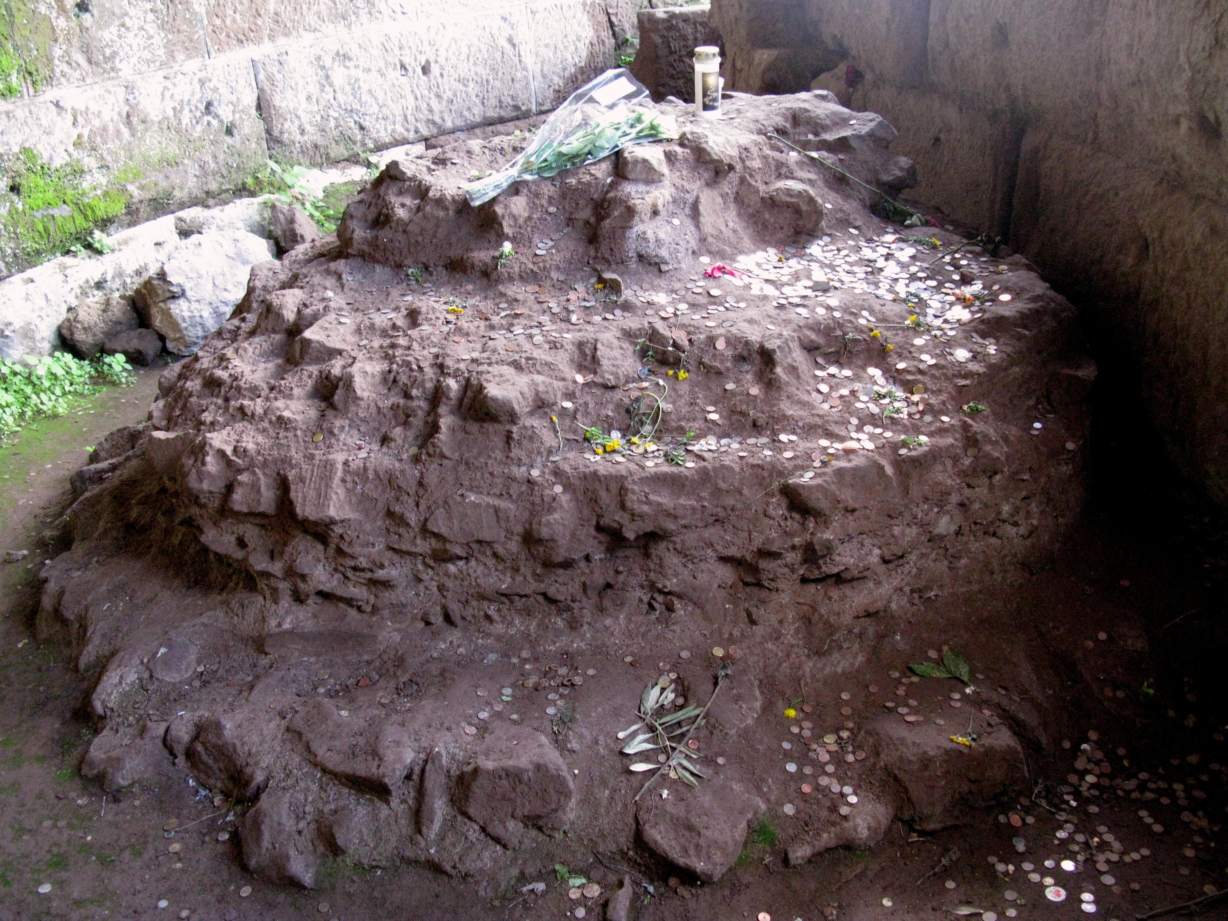 Caesar's altar mound