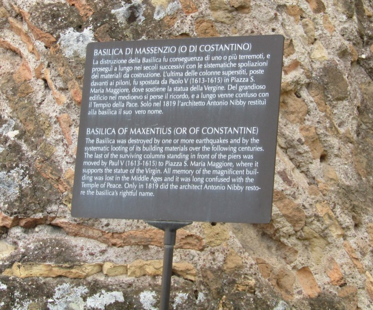 Basilica notice