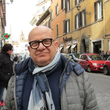 Cesare smiled at me as I hurled myself across Via del Corso - he was spectacularly unimpressed when I asked if I could take his photo, but what a fabulous face