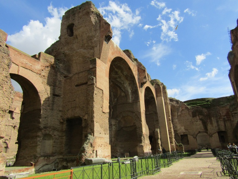 Baths of Caracalla, Rome (Image A. Meredith 2018)