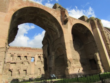Baths of Caracalla (Image A. Meredith 2018)