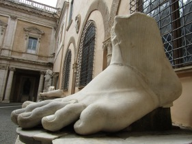 Foot from Colossus of Constantine