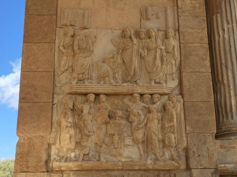 Leptis Magna relief sculpture (Pixabay)