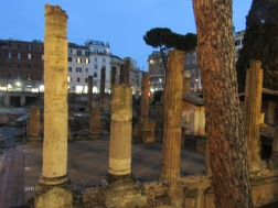 Area Sacra - where Julius Caesar met his end