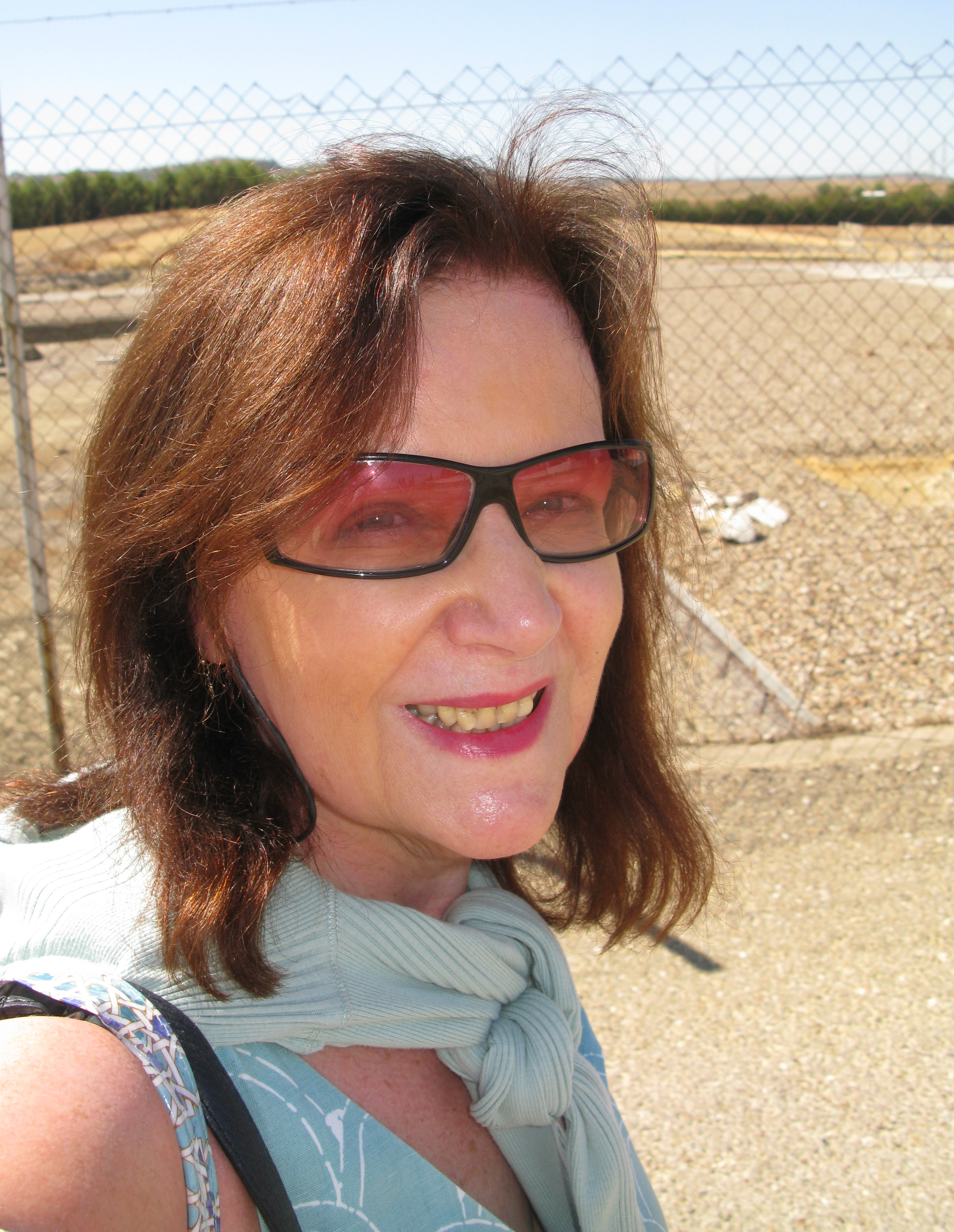 Writer in search of Italica, Santaponce, nr Seville